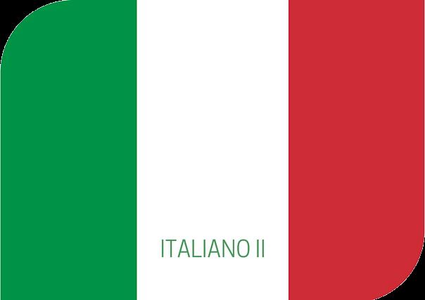 Italiano II, italiano, aprender italiano, estudiar italiano