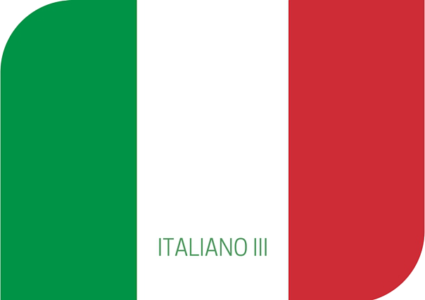 italiano III, italiano, estudiar italiano, aprender italiano