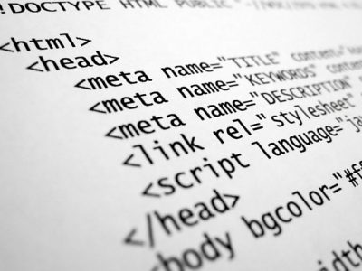 HTML, lenguaje, programación