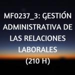 Gestión administrativa de las relaciones laborales CdP ADGD0208 cursos online, certificado de profesionalidad, online, teleformación