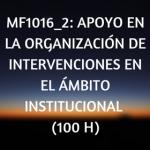 online, curso, certificado de profesionalidad, organización sociosanitaria