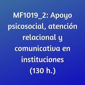 psicosocial, cursos, online, certificados de profesionalidad