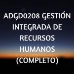 online, gestión integrada de recursos humanos, cursos online, certificados de profesionalidad, teleformación