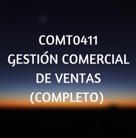 COMT0411 Gestion comercial de ventas, certificados de profesionalidad, cursos online