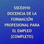 docencia, formacion online, certificados de profesionalidad, online