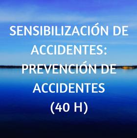 curso, online prevención, accidentes